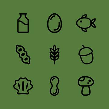 Food Allergens FileMaker Icons logo