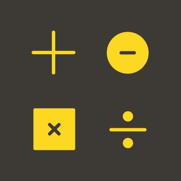 FileMaker Math Operators Icons logo
