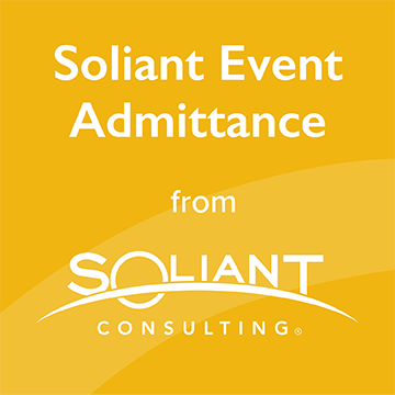 Soliant Event Admittance from Soliant Consulting logo