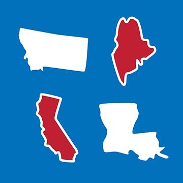 These United States Icon Set logo