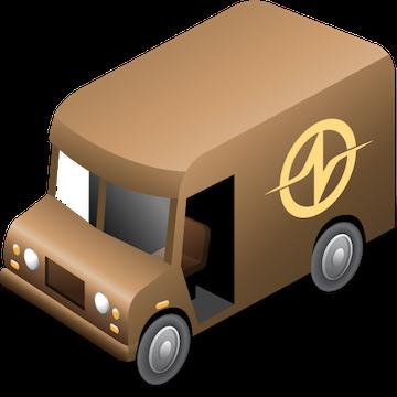 NRGship UPS for FileMaker logo