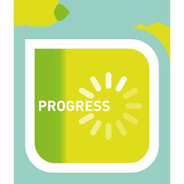 Progress Button logo