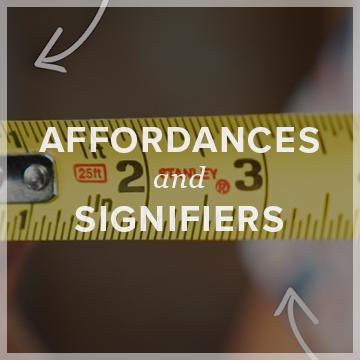 Affordances & Signifiers  logo